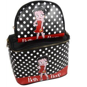 Betty Boop Rockin the Dots Cosmetic Make Up Bag